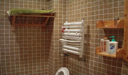 浴室暖气片安装效果图