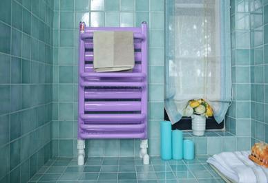 浴室最新暖气片安装效果图