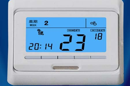 地暖温控器的调节方法