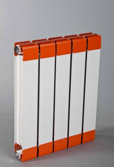 铜铝复合散热器7575-500